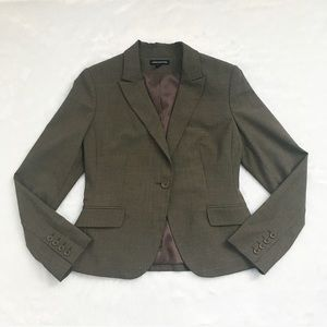 Like New Brown Express Blazer
